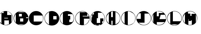 Mondo Techno Font UPPERCASE