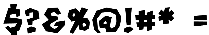 MondoBeyondoBB-Bold Font OTHER CHARS