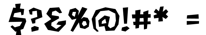 MondoBeyondoBB Font OTHER CHARS