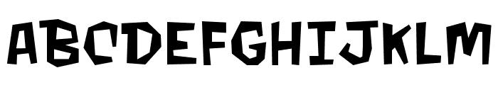 MondoBeyondoBB Font UPPERCASE