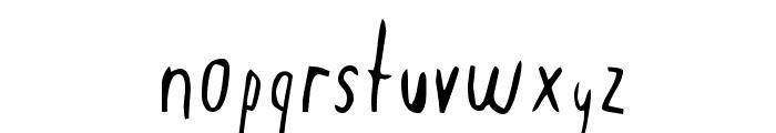 Mondo Font LOWERCASE