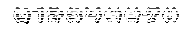 Mondrongo Gradient Font OTHER CHARS