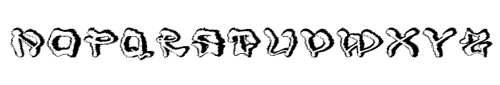 Mondrongo Trash Font UPPERCASE