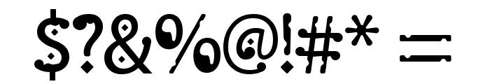 Monggo Pinarak Regular Font OTHER CHARS