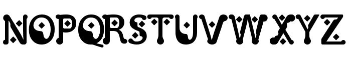 Monggo Pinarak Regular Font UPPERCASE