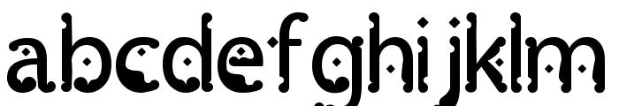 Monggo Pinarak Regular Font LOWERCASE
