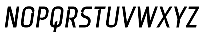 Monitorica Bold Italic Font UPPERCASE