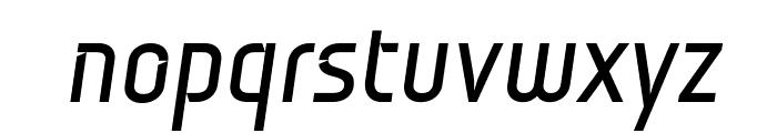 Monitorica Bold Italic Font LOWERCASE