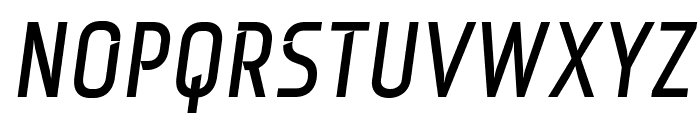 Monitorica-BoldItalic Font UPPERCASE