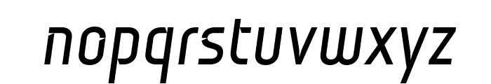 Monitorica-BoldItalic Font LOWERCASE