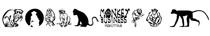 Monkey Business Font OTHER CHARS