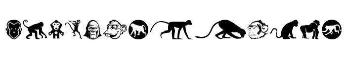 Monkey Business Font LOWERCASE