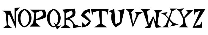Monkey Chunks Font UPPERCASE