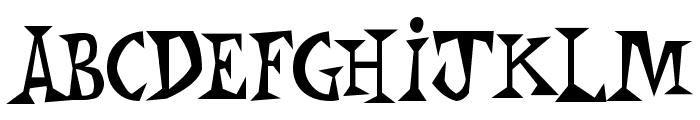Monkey Chunks Font LOWERCASE