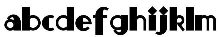 Monkey Fingers NF Font LOWERCASE