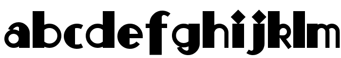 Monkey-Fingers Font LOWERCASE