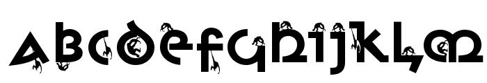 MonkeyUncialica Font UPPERCASE