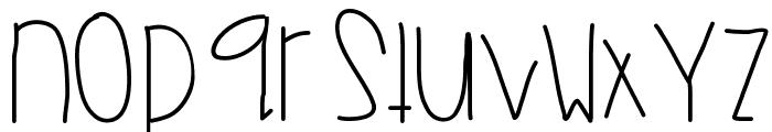 MonkeyWishes Font LOWERCASE