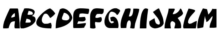 Monkeyboy Font LOWERCASE