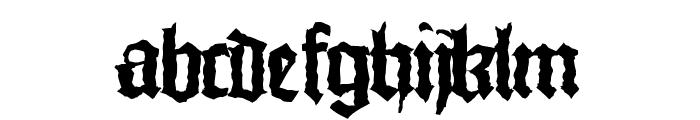 MonksWriting Font LOWERCASE