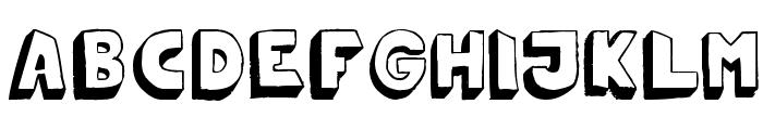 Mono2poser Font UPPERCASE