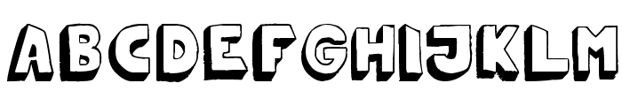 Mono2poser Font LOWERCASE