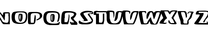 Mono Font UPPERCASE