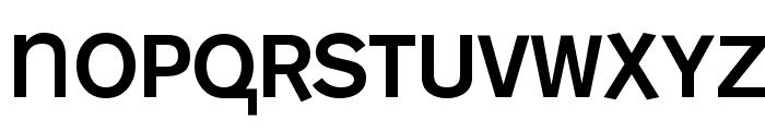 MonoAlphabet Regular Font UPPERCASE