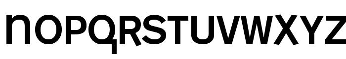 MonoAlphabet Regular Font LOWERCASE