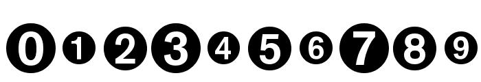 MonoAlphabetMultiSized Font OTHER CHARS