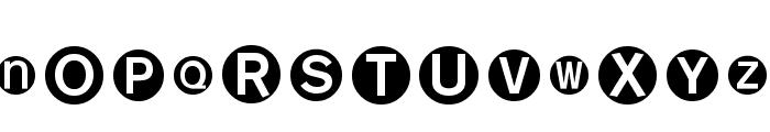 MonoAlphabetMultiSized Font UPPERCASE