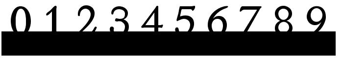 MonoSerifBased70 Font OTHER CHARS