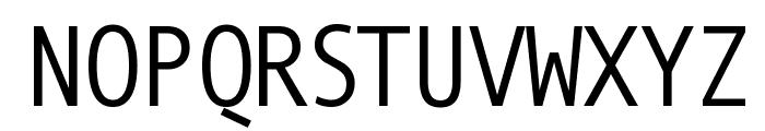 MonoSpatial Font UPPERCASE