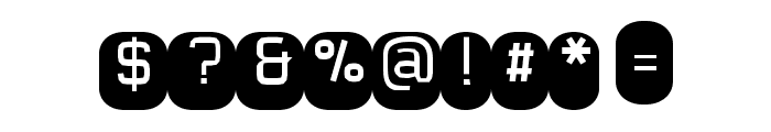 Monofett Font OTHER CHARS