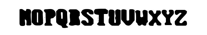 Monofill Regular Font UPPERCASE