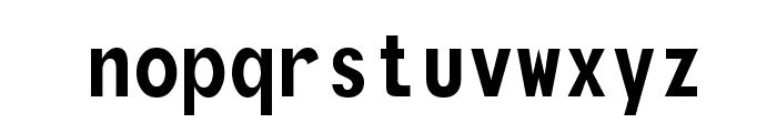 Monofonto Font LOWERCASE
