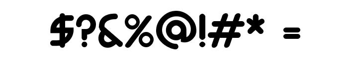 Monoglyceride Bold Font OTHER CHARS