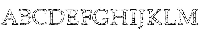 Monolithic Font UPPERCASE