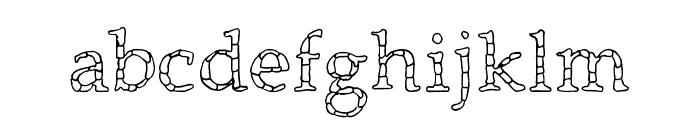 Monolithic Font LOWERCASE