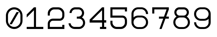 Monomod Font OTHER CHARS