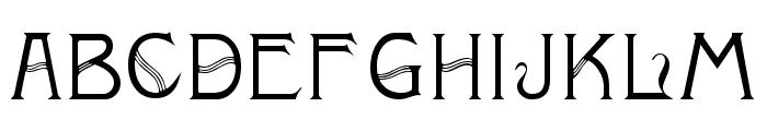 Monopol Font UPPERCASE