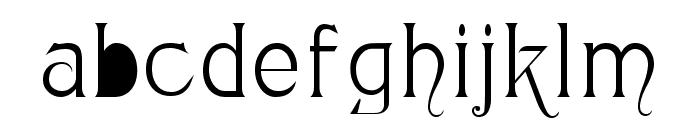 Monopol Font LOWERCASE