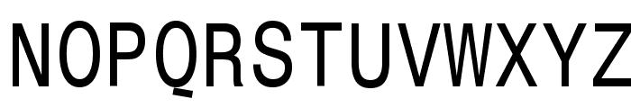 MonospaceTypewriter Font UPPERCASE