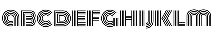 Monoton Font LOWERCASE