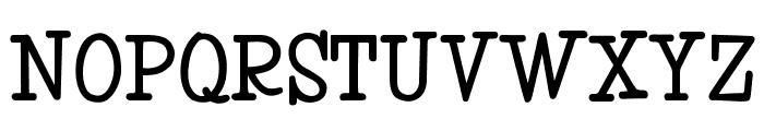MonroeOpti-Bold Font UPPERCASE
