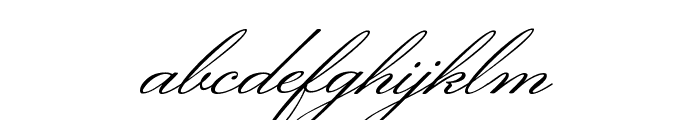 Monsieur La Doulaise Regular Font LOWERCASE