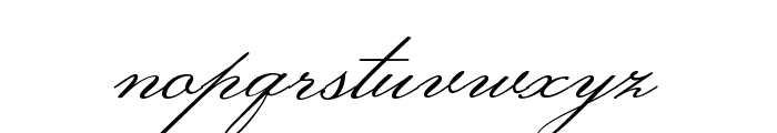 MonsieurLaDoulaise-Regular Font LOWERCASE