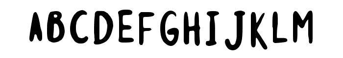 Monstahs Ink Regular Font UPPERCASE