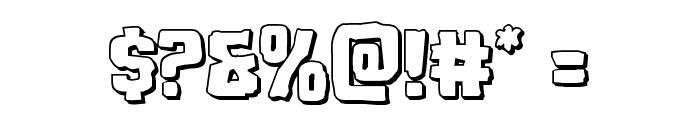 Monster Hunter 3D Font OTHER CHARS