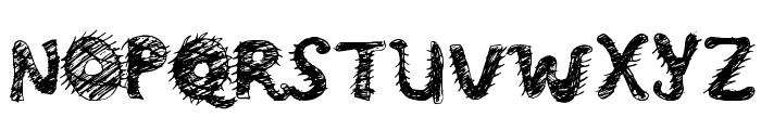 Monster Regular Font UPPERCASE